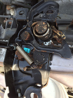 2000 Honda Accord Hood Latch Before Rus911
